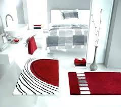 modern bathroom mat sets red bath mat set modern bath rugs ideas mat sets bright red