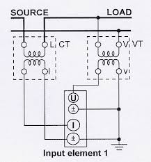 how to measure electrical power edn a single phase two wire system uses a current transformer and voltage transformer