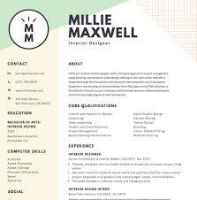 Free Online Resume Templates Best 8822 Free Online Resume Maker Canva Regarding Resume Template Online