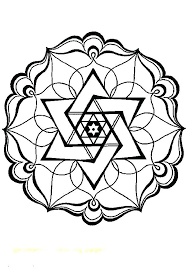 Easy Geometric Coloring Pages Showideeinfo