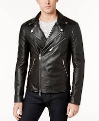 moto leather jacket mens. armani exchange men\u0027s leather moto jacket mens