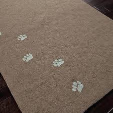 paw print rug whimsical dog paws outdoor rug paw print area rug dog paw print area rugs