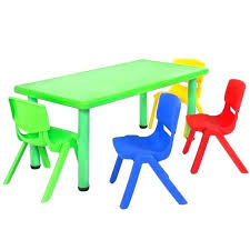 Preschool Table And Chairs Set Preschool Table And Chair Set