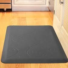 wonderful design rubber kitchen floor mats soft wood floors
