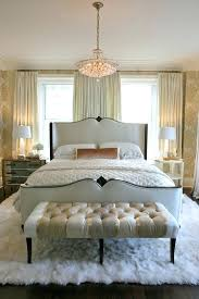 rug on carpet master bedroom guest bedroom queen frame tufted end bench ideas plush white lamb