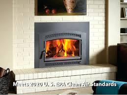 large hybrid fireplace insert wood burning inserts best flush arched large flush fireplace insert