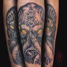 Cthulhu Tattoo By Abrahamgart On Deviantart