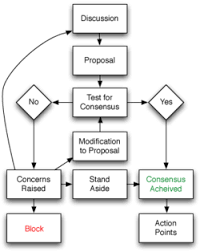 Flowchart Of Basic Consensus Decision Making Process