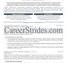 Event Planner Resume Event Resume Sample Template Project Manager Hotel Marketing 63