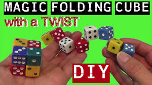DIY INFINITY FIDGET CUBE TOYS WITH A TWIST- MAGIC CUBE - DICE TOY- DIY  FIDGET TOYS -DIY FIDGET CUBE