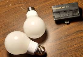 garage door opener bulbLED Bulbs interfering with Garage Door Opener