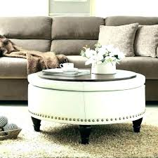 best leather coffee table ottoman round leather coffee table leather coffee tables white leather coffee table