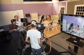Tv studio furniture Design Requirement Studio Floor With Production In Progress Phillycam Television Facilities California State University Northridge