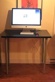 standing office desk ikea. nice ikea stand up desk the 100 dollar luke thomas standing office