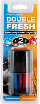 <b>Ароматизатор</b> для авто <b>AUTOSTANDART</b> Double Fresh асс-т ...