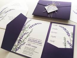 30 best wedding invitation layouts images on pinterest Indian Wedding Invitations Green Street a wild little bouquet of lavender and rosemary adorn this wedding invitation this design is shown in shades of green and purple (dark or light), but indian wedding cards green street