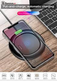 Đế sạc không dây chuẩn Qi Baseus UFO LV156 cho Apple iPhone 8/ iPhone –  Baseus Việt Nam