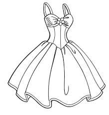 картинки карандашом красивые платья