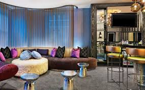 Living Room Bar Chicago Extreme Wow Suite W Chicago City Center Hotel
