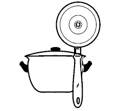 Small Picture Kitchen utensils coloring page Coloringcrewcom