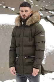 ice fur hood parka jacket