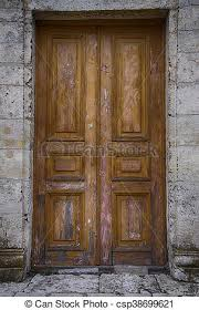 old wooden door background csp38699621