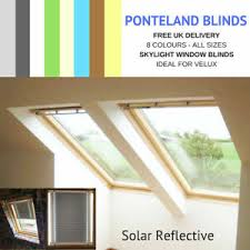 Details About Skylight Blinds For Velux Windows Solar Reflective Free Uk Delivery