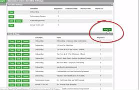 Add And Edit Dynamic Forms Checklists In Sage Hrms Cs3 Tech
