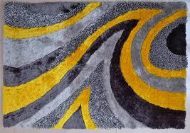 modern area rug grey yellow 26