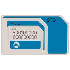 at t sim for at t prepaid phone