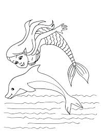 Dolphin Coloring Picture K3919 Funny Dolphin Free Dolphin Coloring