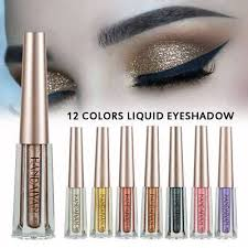 <b>HANDAIYAN 12 Color Liquid</b> Eye shadow Glitter Makeup Shimmer ...