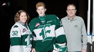 Dustin Wolf named Silvertips' Scholastic Player of the Month for November –  WHL Network