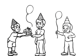 Small Picture Kids Free Birthday Coloring Pages Birthday Coloring pages of