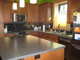 Tile For Kitchens Subway Tile Backsplash Kitchen Ice Gray Glass Grey For Black