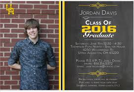 High School Graduation Announcement Free 31 Examples Of Graduation Invitation Designs In Psd