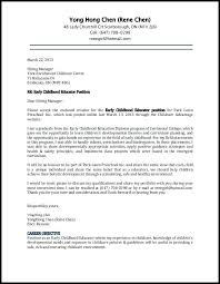 Cover Letter And Resumes Child Care Resumes And Cover Letters Cover Letter Resume Examples