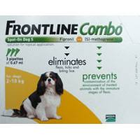 frontline for puppies. Frontline Combo For Small Dogs 2-10 Kg Puppies O