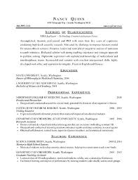 Examples Of College Graduate Resumes Resume Bank