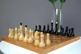 image 0 big chess set w wooden vintage big chess set
