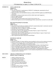 Repair Resume Samples Velvet Jobs