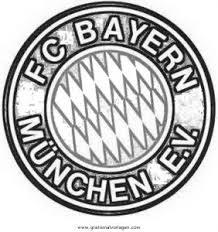 Malvorlage Bayern München Logo Malvorlagencr