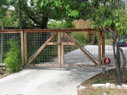 welded wire fence gate. A Framed, Welded Wire Gate | Galvanized Steel Frame Drive Gates, Austin, Texas Fence N