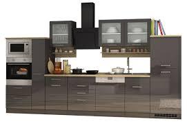 Küchenzeile München Vario 4 Küche Mit E Geräten Breite 370 Cm