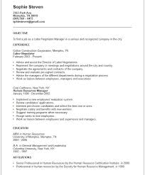 Short Resume Samples | Sample Resume And Free Resume Templates
