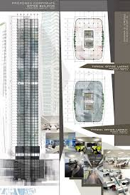corporate office layout. Design 8 / Proposed Corporate Office Building High-rise Architectural Layouts Layout Y