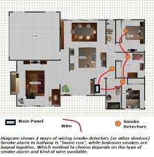 fire alarm wiring for more complete home security 2 wire smoke detectors diagram