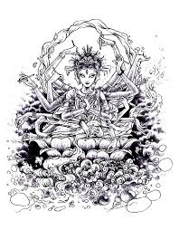 Small Picture zen Indian drawing intricate coloring pages free for grown ups