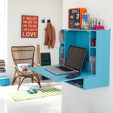 wall mounted home office. Small Wall Desks Drop Leaf Desk For Home Office Or Study Mounted Computer S