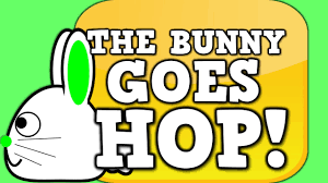 Pattern Song Unique THE BUNNY GOES HOP Easter Pattern Song For Kids YouTube